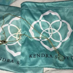 Kendra Scott Teardrop Necklace